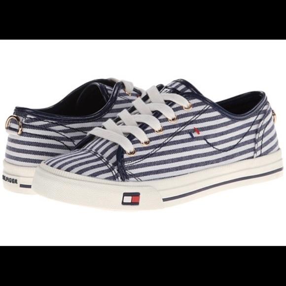 7f1f96ce015890 Tommy Hilfiger Livid Nautical Stripe Sneakers Shoe